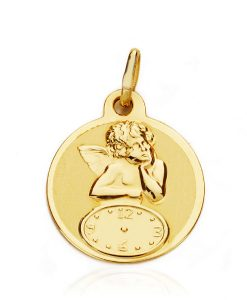 08000095 medalla angel reloj 15mm 1.10grs tluu-80.00