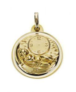 24000534 medalla niño de la hora 18mm bisel 2.10grs kert-145.00