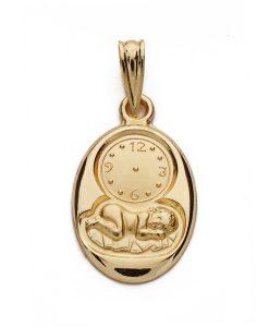 26000062 medalla niño reloj 20x12mm 1.50grs uket-115.00