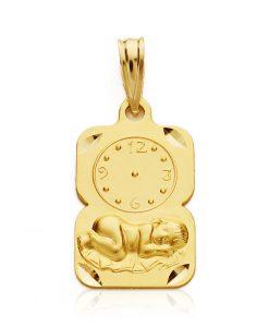26000342 medalla niño reloj 19x11mm 1.65grs uert-105.00