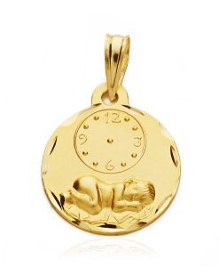 26000348 medalla niño reloj 15mm 1.55grs utle-110.00