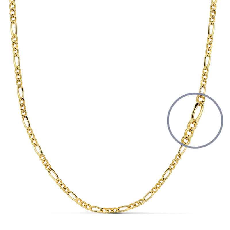b98d270336db Cadena Cartier de Oro Amarillo 18 Quilates con 60 cm de Largo y 4,10 gr